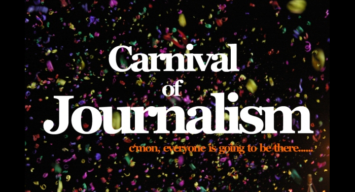 Welcome back to the Carnival of Journalism!